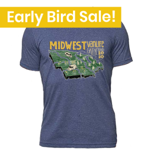 Midwest Vanlife T-Shirt early bird